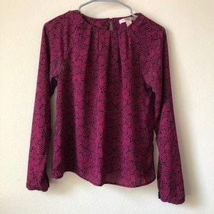 Contemporary Forever 21 Long Sleeve Blouse
